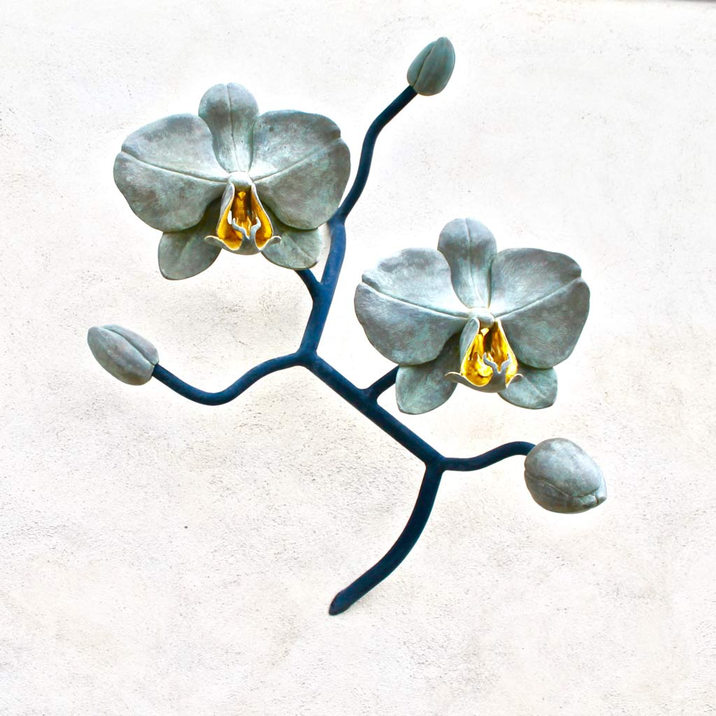 orchid-sculpture